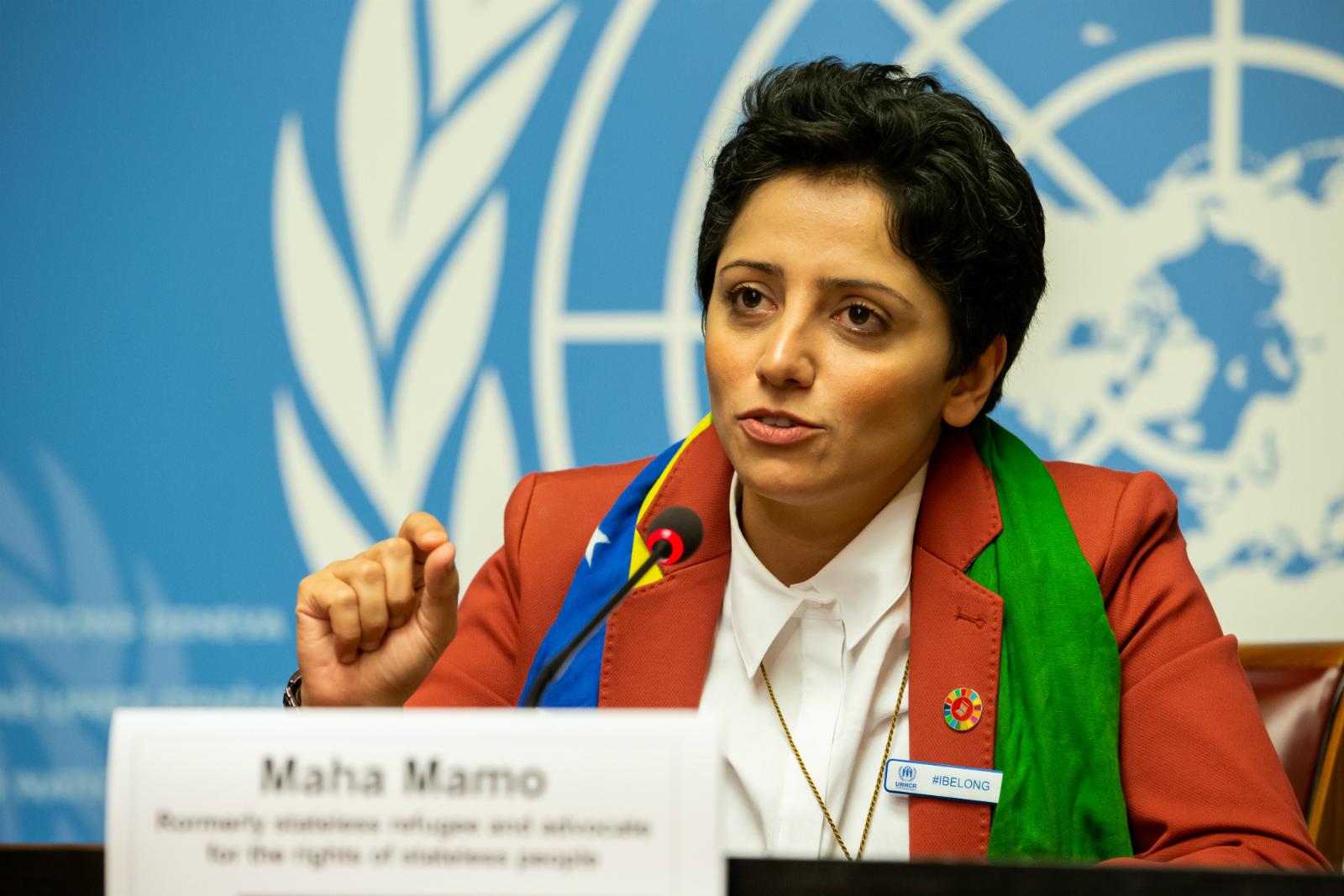 """El drama de """"no existir"""", la lucha que venció Maha Mamo"""