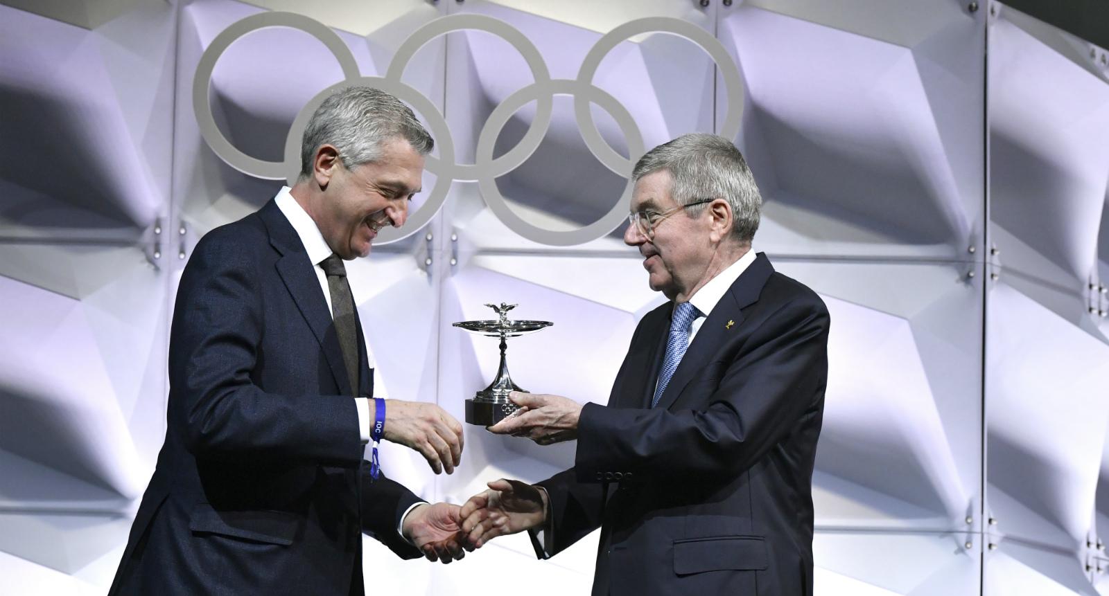 ACNUR, premiado con la Copa Olímpica por su contribución al deporte