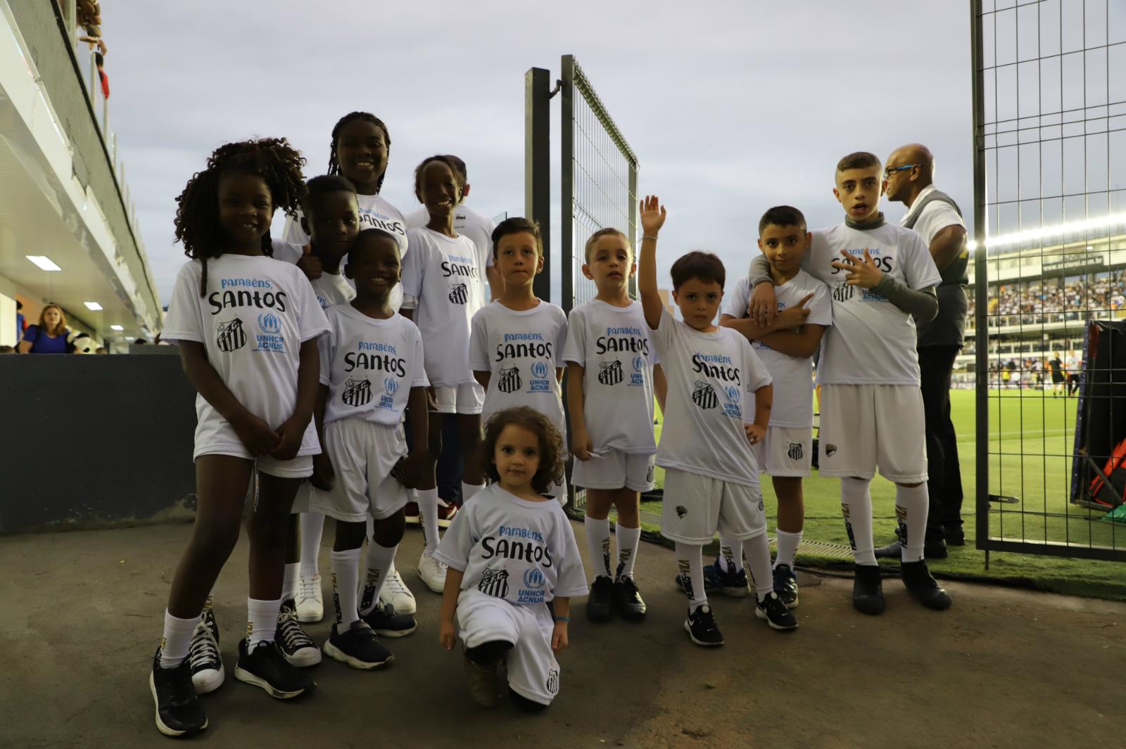ACNUR y Santos FC, aliados por los refugiados en Brasil