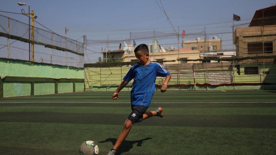 El pequeño fan sirio del Real Madrid que pudo recomenzar su vida en España