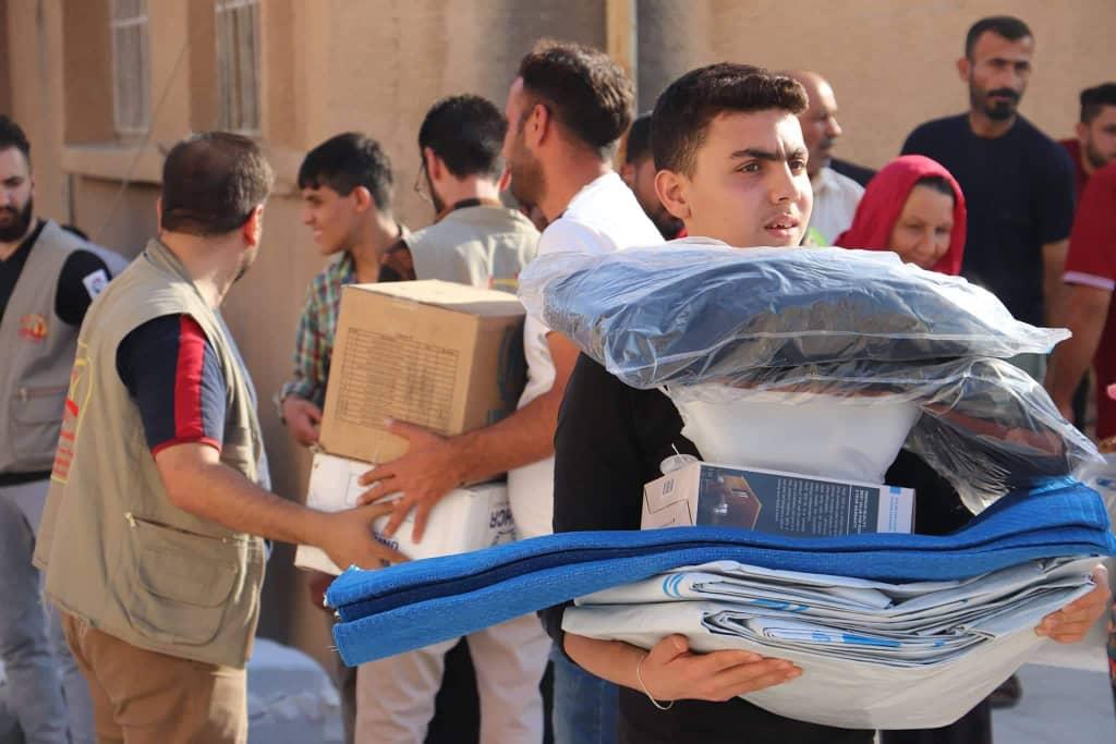 Desde la escalada de violencia en el norte de Siria, ACNUR ha asistido a más de 31.800 personas. Foto: © UNHCR
